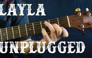 learn how to play layla unplugged