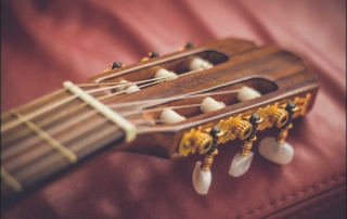 nylon strings are great for an absolute beginner guitar