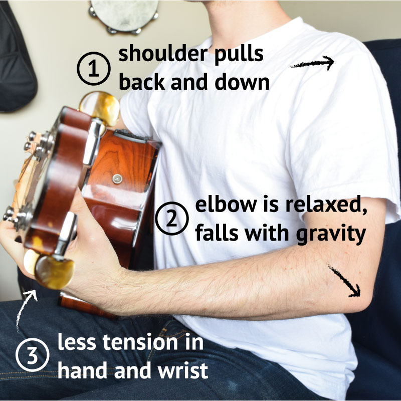 make barre chords easy with correct posture