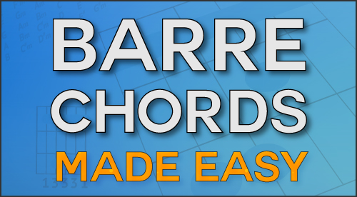 barre chord course